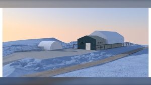 A rendering of the Churchill Marine Observatory - Source: Prairie Architects Inc.