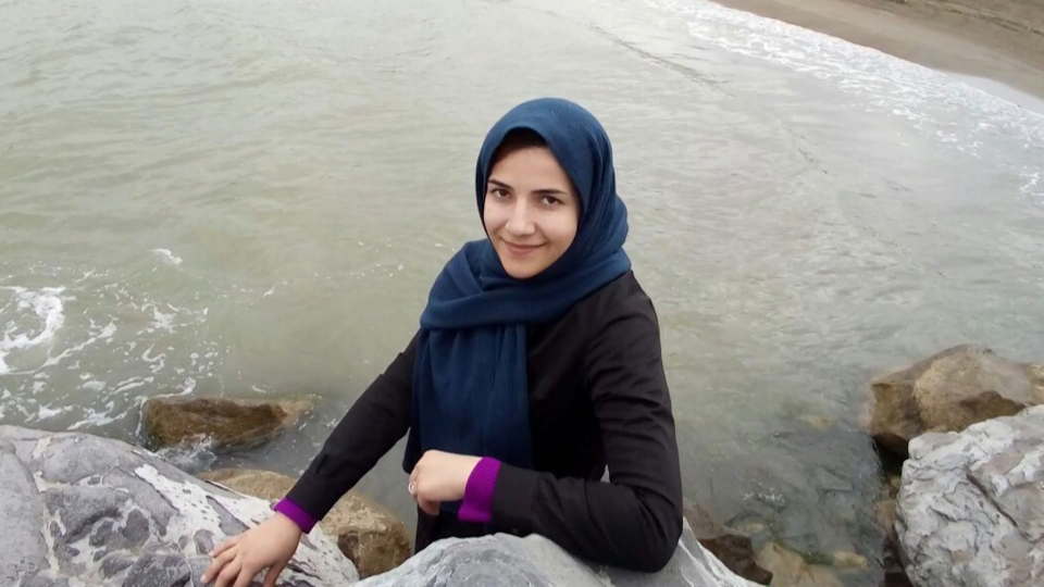 Elnaz Nabiyi, 29, wife of Javad Soleimani, was one of the Edmonton residents on the plane when it was shot down Jan. 8, 2020.