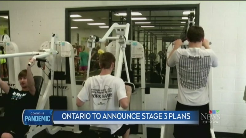 Ontario to announce Stage 3 plans