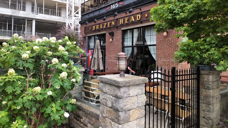 Toronto Bar Brazen Head is seen in this undated photograph. (Austin Delaney/CTV News Toronto)