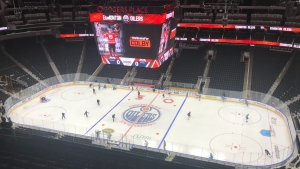 Oilers training camp, July 13