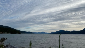 Douglas Channel in Kitimat captured by Richard Morrison.