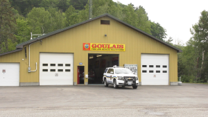 A paramedic response unit is now stationed at the Goulais River Volunteer Fire and Rescue Hall. Jul. 12/20 (Jairus Patterson/CTV Northern Ontario)