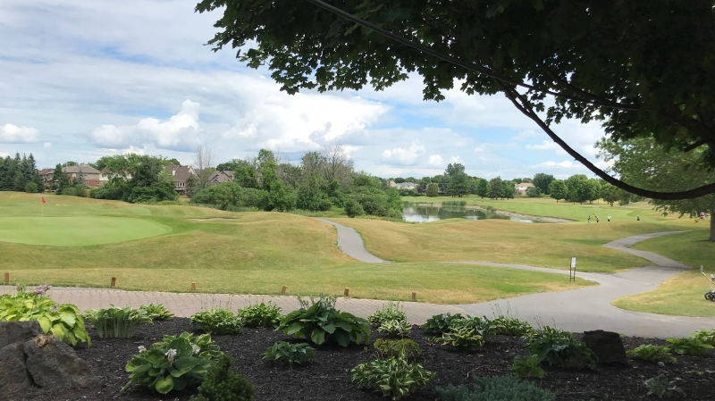 ClubLink wants to redevelop the Kanata Golf and Country Club lands to build homes, but the City of Ottawa says the company must uphold a 40% greenspace agreement. (Leah Larocque / CTV News Ottawa)