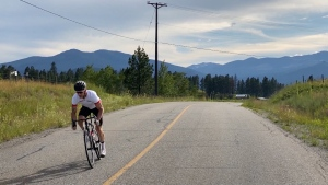 The three-time Paralympic medalist from Cranbrook was set to compete in the summer games but is now preparing for a gruelling ride through southern B.C.