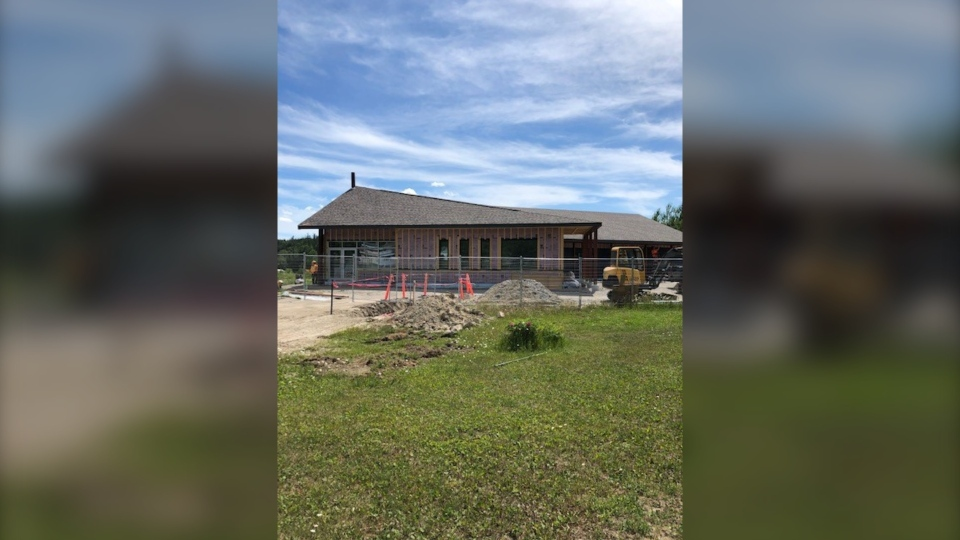 New band office being built for Flying Post First