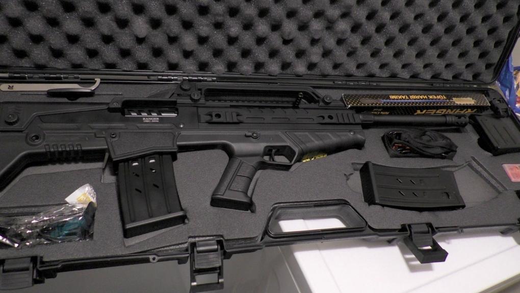 Calgary police gun seized