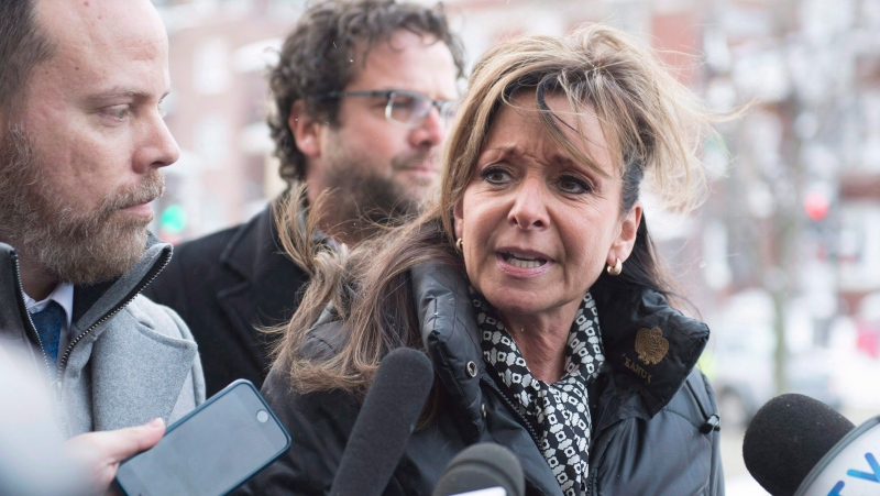 """Quebec Nurse Union (FIQ) president Nancy Bedard feels that the COVID-19 pandemic no longer """"justifies"""" the suspension of several provisions of their collective bargaining agreement. THE CANADIAN PRESS/Jacques Boissinot"""