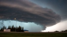 Storm hunters track severe weather