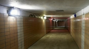 St. Vital pedestrian tunnel under repair