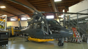 B.C. has a new tool in its forest firefighting arsenal: a helicopter equipped with night vision goggle technology known as a helitanker.