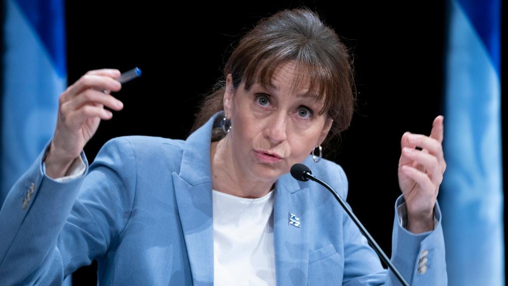 Quebec Culture Minister Nathalie Roy
