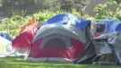 Park camping for homeless debated