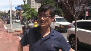 Moncton cafe owner David Shin estimates that he has recouped 75 to 85 per cent of his business since reopening.