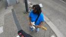 B.C. street artist