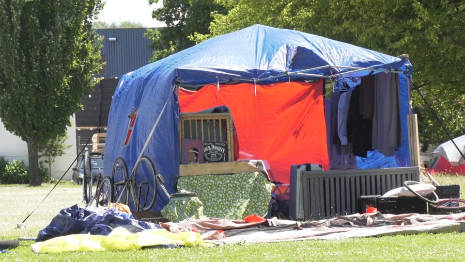 Vancouver tent