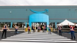 Amazon's first fulfillment centre in Quebec officially celebrated its 'day one' earlier this month with its newest employees. (CNW Group/Amazon Canada)