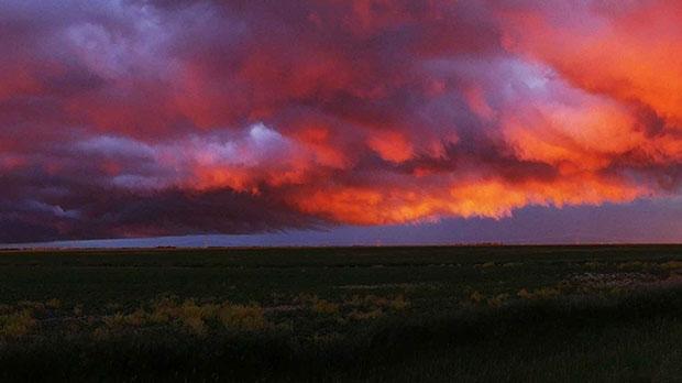 Prairie storm at St. Francois Xavier. Photo by Claude Regnier.