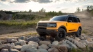 The Bronco Sport has a permanently attached roof and is available only in a four-door version. (Ford)