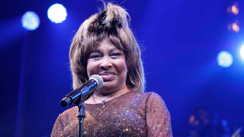 "Tina Turner speaks during the ""Tina - The Tina Turner Musical"" opening night at Lunt-Fontanne Theatre on November 07, 2019 in New York City. (John Lamparski/Getty Images)"