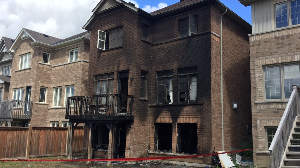 Alliston house fire