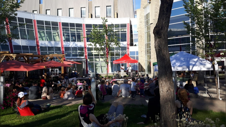 The third annual Summer Patio Series at La Cité Francophone will begin on Friday, July 17, 2020. (Photo courtesy: La Cité Francophone)
