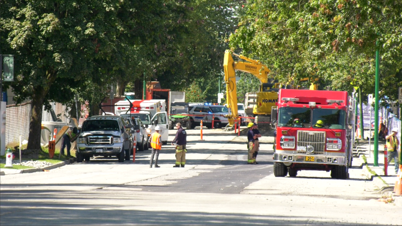 The BC Coroners Service says it has been notified about a workplace fatality at a construction site in Burnaby.