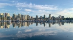 Coal Harbour as seen from Stanley Park, captured by Dennis Amador.