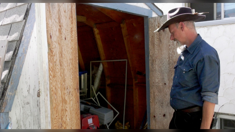 Hundreds of tools were stolen from Mark Kruger's shed while he was away in northwestern B.C.