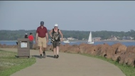 Both N.B. and P.E.I.'s latest cases come from people travelling outside Atlantic region. Laura Brown reports.