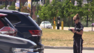 In Barrie, bylaw officers laid 253 parking tickets between June 11 and 15 at the waterfront. (Mike Arsalides/CTV)