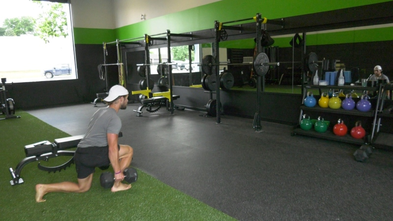 Gyms and fitness clubs in Ottawa can reopen on Friday, but the daily workout routine will change to adhere to pandemic control measures. (Dave Charbonneau / CTV News Ottawa)