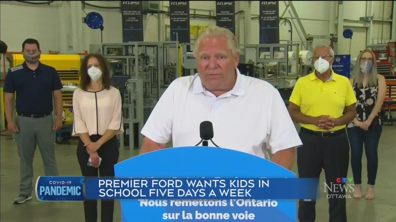 Premier supports full time school day