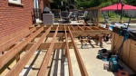 Pressure-treated lumber is the new hot commodity as decks become a pandemic project for homeowners who are spending more time in their own back yards. (Dylan Dyson / CTV News Ottawa)