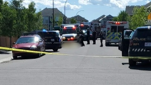 One man is dead following a shooting Tuesday afternoon in southeast Calgary
