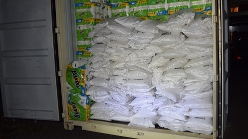 Stolen shipping container full of rice leads to warehouse of stolen goods, Mounties say