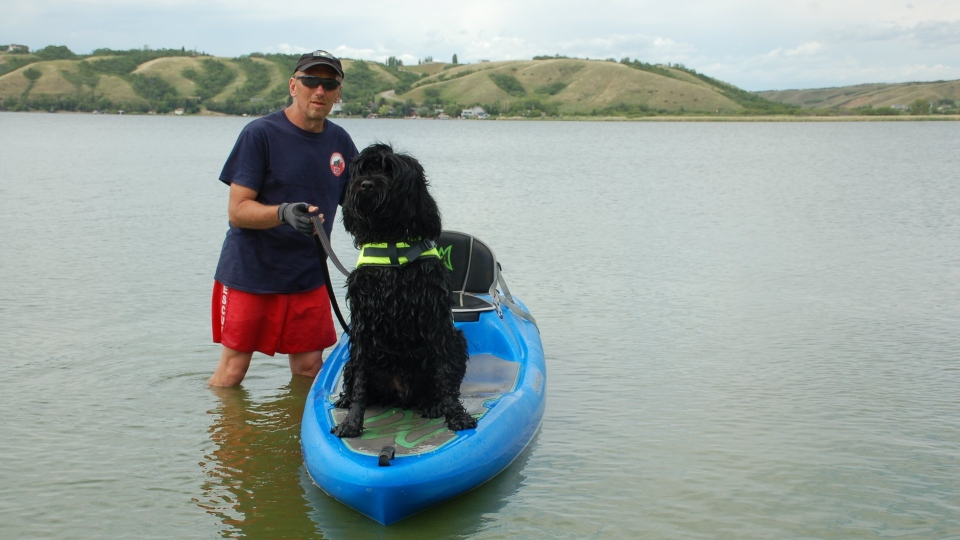 Gusztav Water Rescue