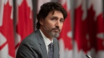 Prime Minister Justin Trudeau listens to a question during a news conference, Wednesday, July 8, 2020 in Ottawa. THE CANADIAN PRESS/Adrian Wyld
