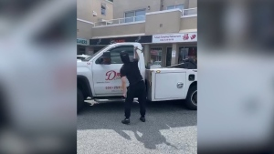 Tow truck attacker defends his actions