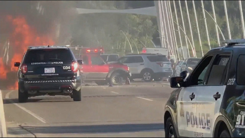 Fatal collision on Walterdale Bridge, July 14