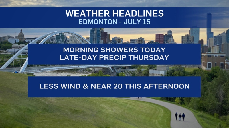 Weather headlines, July 15