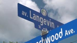 Langevin Avenue in ottawa