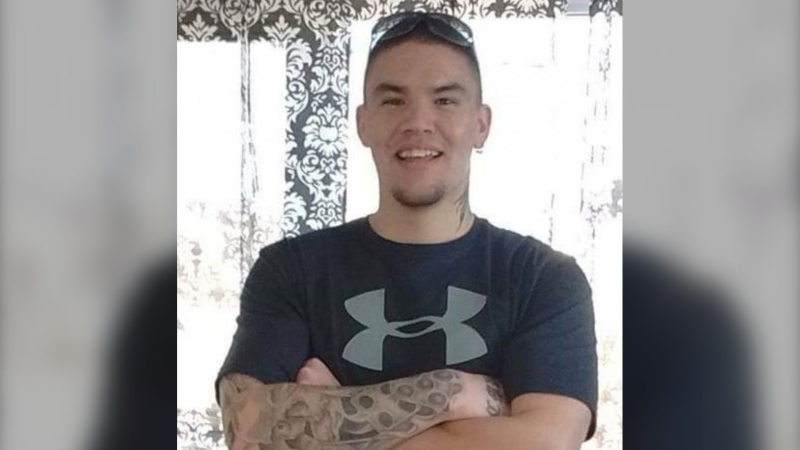 "Joseph ""Dakota"" Maloney, from the Bible Hill, N.S., area, is facing a number of charges including assault, uttering threats, mischief and other related offences. (Nova Scotia RCMP)"