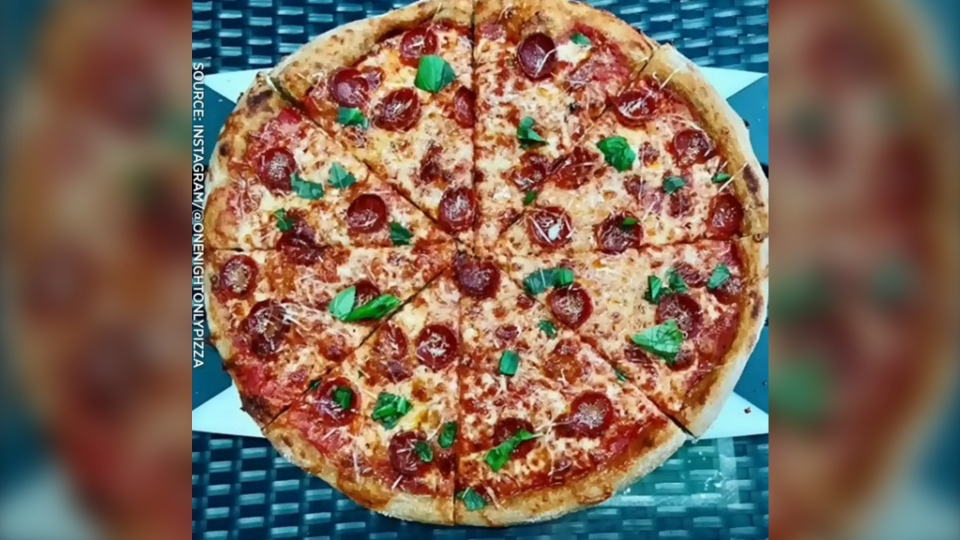 One night only pizza