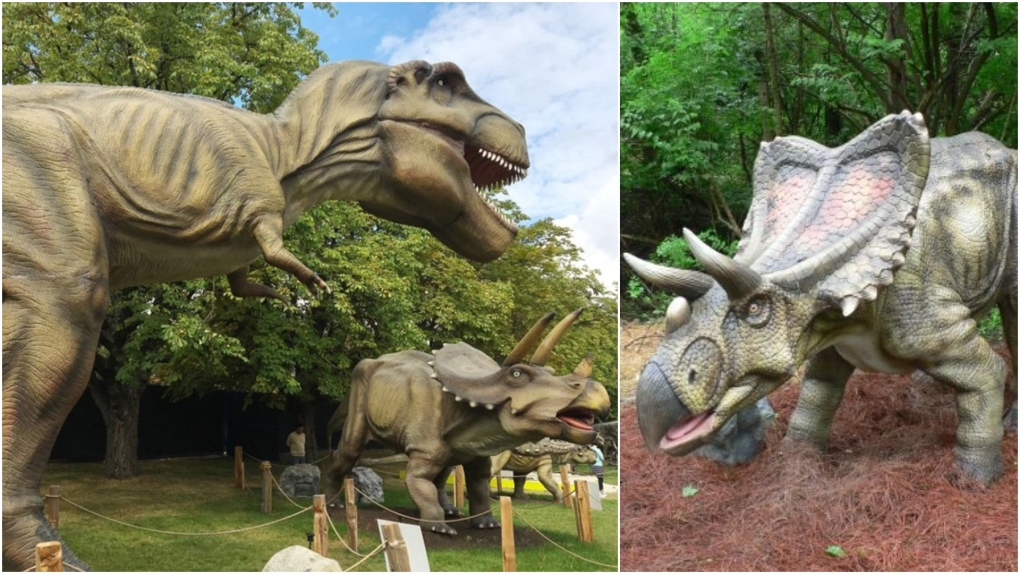 Animatronic dinosaurs for sale in B.C.