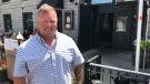 Dave McNamara, owner of the Merchant Tap House. (Kimberley Johnson/CTV News Ottawa)