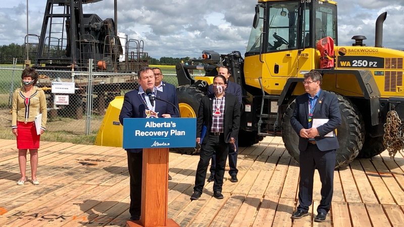Premier Jason Kenney announced a new working group to strengthen relationships between contractors and Indigenous communities as part of Alberta's Site Rehabilitation Program (SRP) on Wednesday, July 15, 2020.