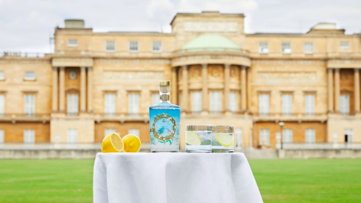 The Buckingham Palace gin, now for sale, will also be served at official events at the Palace. (Royal Collection Trust)