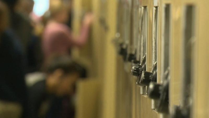 school locker class classroom generic