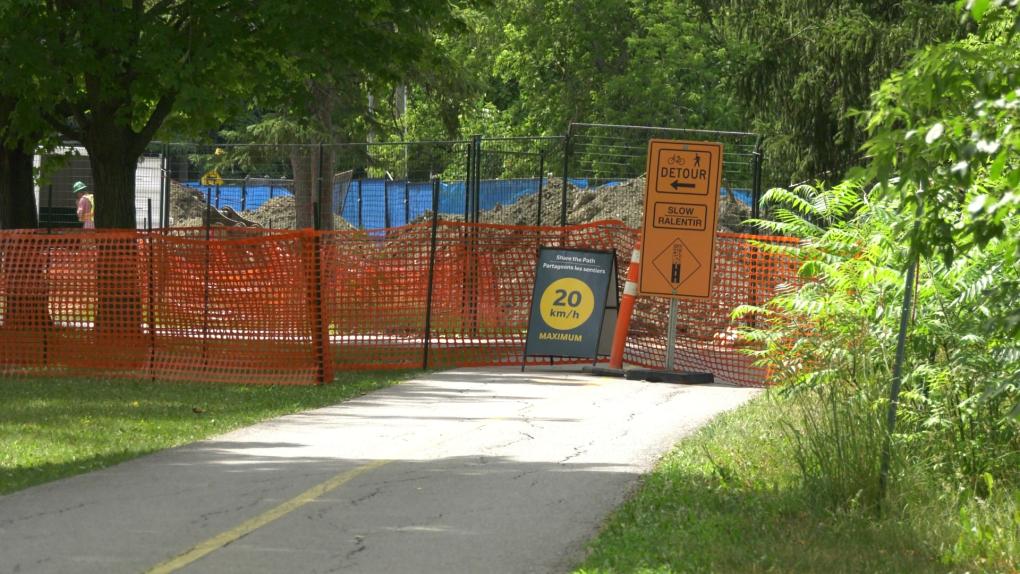Detour Ottawa River Pathway
